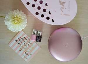 mini macaron maxi gel manicure set