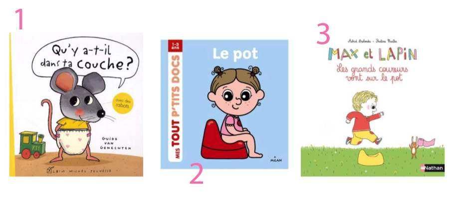 livres enfants propreté