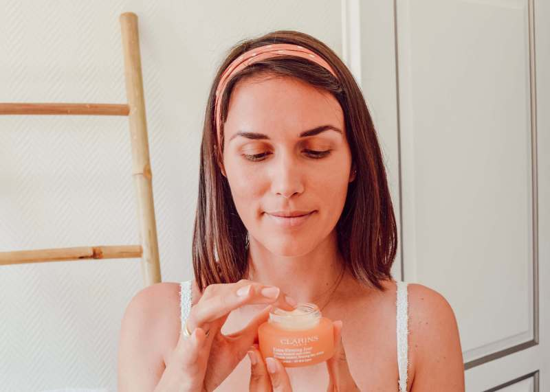 extra-firming clarins crème de jour