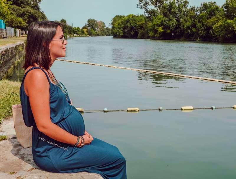 l'attente de l'accouchement