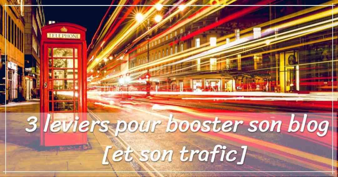 booster son blog : visuel