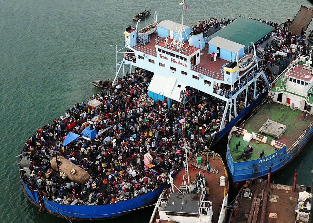 Haiti boat life and survival