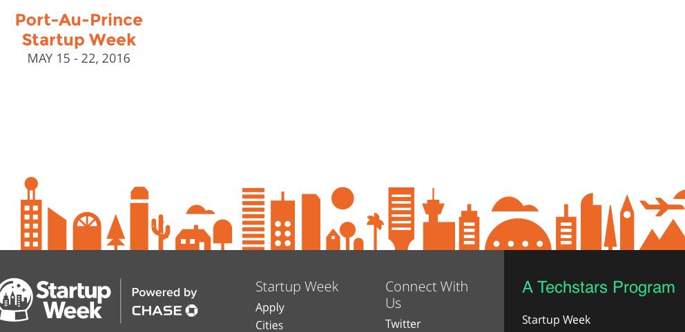 PAP Startup week global view