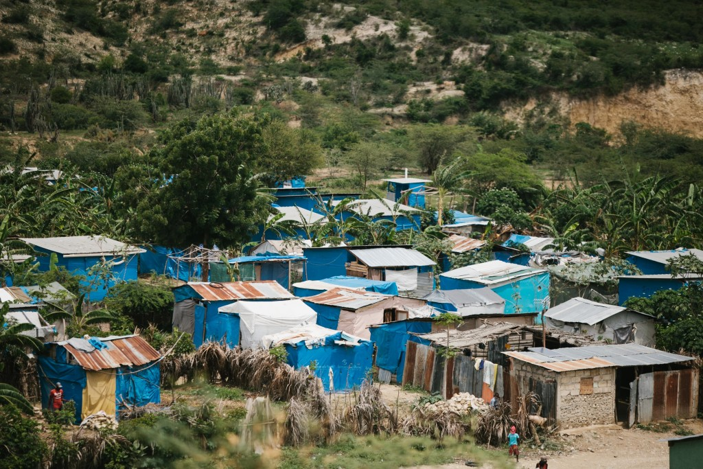 picture-tent-city Haiti earthquake