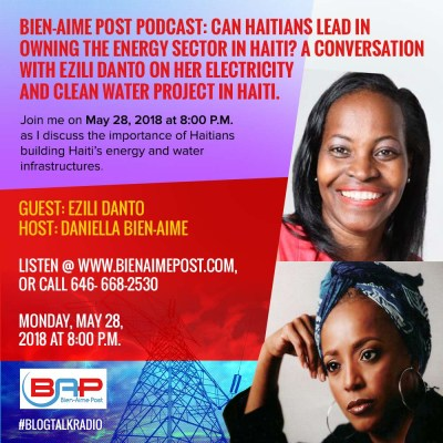 Can Haitians Lead the Energy Sector in Haiti? A Conversation with Èzili Danto