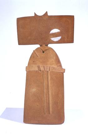 Armando Correia 1998 MEMÓRIAS URBANAS I Lastras Montadas em Volume, Cozedura 1300 graus 72 x 38 x 30 cm