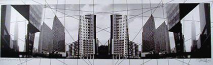 Américo Silva 2003 PROJECTO XV ARQUITECTURAS PLANOS I - II/V Fotografia 80 x 110 cm