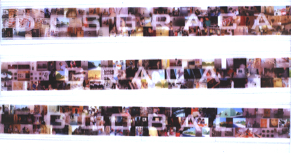 Pedro Leão 2003 TRÍPTICO 2003 Fotografia s/ Acrílico 3(13 x 100) cm
