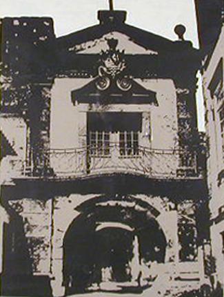 Cabral Pinto 1980 POUSADA Serigrafia 58 x 46 cm