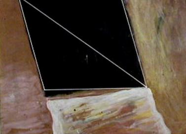 Rui Anahory 1982 PINTURA II 60 x 73 cm Guache s/ Papel