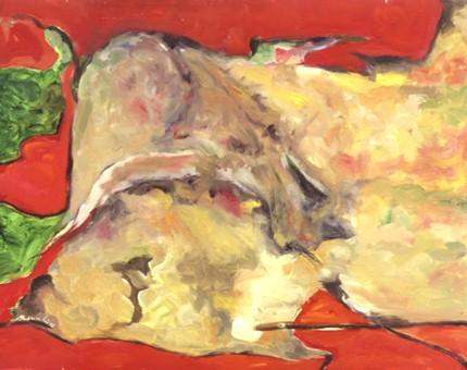 Margarida Leão, 1992 S/ TÍTULO Óleo s/ Tela 81 x 60 cm