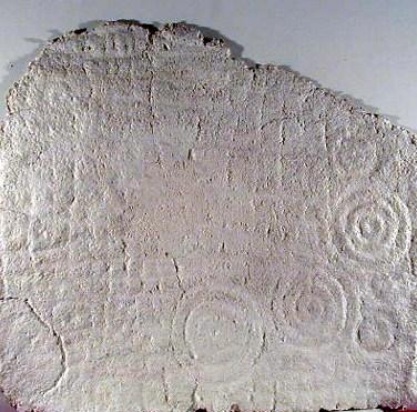 David de Almeida (PT) Neolithic stone engraving (serrages), 1982 Cast paper 140 x 123 cm Prémio Gravura na III Bienal Internacional de Arte de Cerveira, realizada de 24 de Julho a 31 de agosto de 1982.