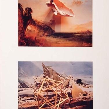 Eduardo Nery (PT) Transmutação da imagem II, 1981 Fotografia sobre papel 82 x 60 cm Prémio Fotografia na III Bienal Internacional de Arte de Cerveira, realizada de 24 de Julho a 31 de agosto de 1982.