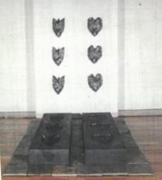 Elsa César (PT) Memórias da Terra, 1990 Instalação 188 x 52 x 20 cm