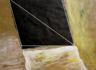 Rui Anahory (PT) Pintura II, 1981 Guache sobre papel 60 x 73 cm Obra apresentada na III Bienal Internacional de Arte de Cerveira, realizada de 24 de Julho a 31 de agosto de 1982.