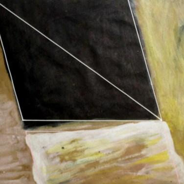 """R Rui Anahory, 1981 """"Pintura II"""" Guache s/ papel 60x73 cm Obra apresentada na III Bienal Internacional de Arte de Cerveira, realizada de 24 de Julho a 31 de agosto de 1982."""