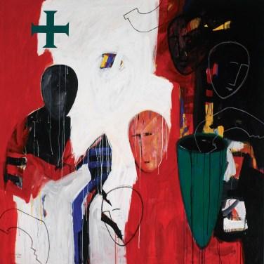 Sobral Centeno (PT) Outros Lugares, 200 Acrílica sobre tela 150 x 150 cm Obra apresentada na XV Bienal Internacional de Arte de Cerveira, realizada de 25 de julho a 27 de setembro de 2009.