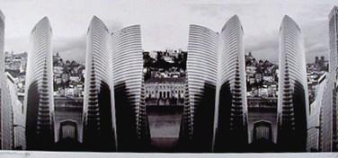 Américo Silva (PT) Projecto XV arquitecturas planos II-II/V, 2003 Fotografia 59 x 146 cm Obra apresentada na XII Bienal Internacional de Arte de Cerveira, realizada de 16 de agosto a 21 de setembro de 2003.