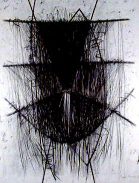 Mário Américo 1998 S/ TÍTULO Desenho 130 x 100 cm