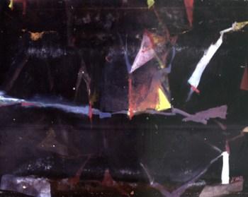 Miguel D'Alte, 1982 S/ TÍTULO Pintura s/ aglomerado 188 x 250cm