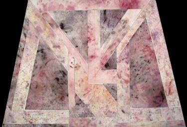 Manuel Baptista 1984 JANELA Colagem 100 x 150 cm