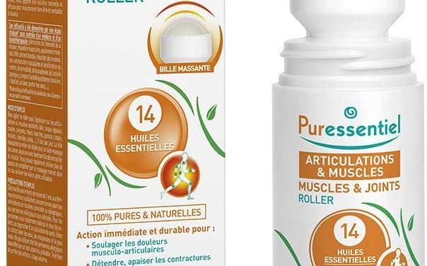 Conseil Bien-être : Puressentiel Articulations et muscles – Roller aux 14 huiles essentielles