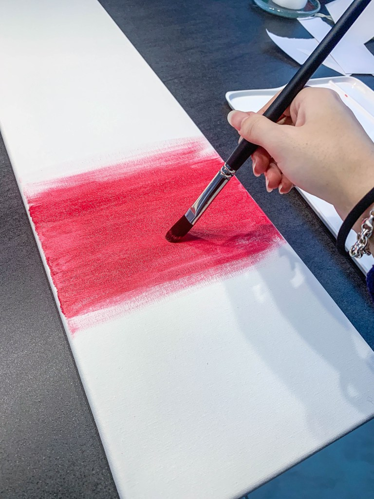DIY Keilrahmen Arsenal Gemälde