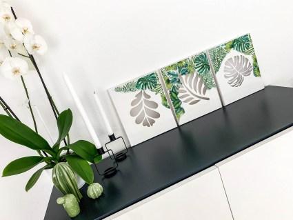 DIY Leinwand Tropic