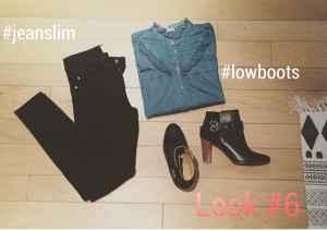 comment bien porter les low boots