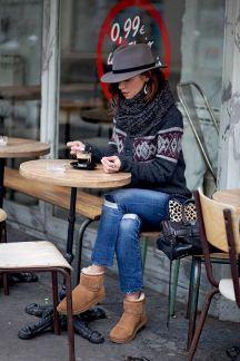 paires de chaussures pour l'hiver