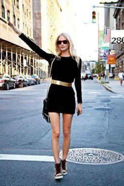 quelles chaussures porter avec une robe noire