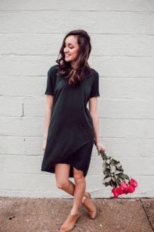 quelles chaussures porter avec une robe noire. Black Bedroom Furniture Sets. Home Design Ideas