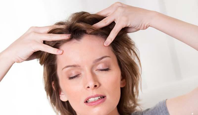 Image result for masajear el cuero cabelludo