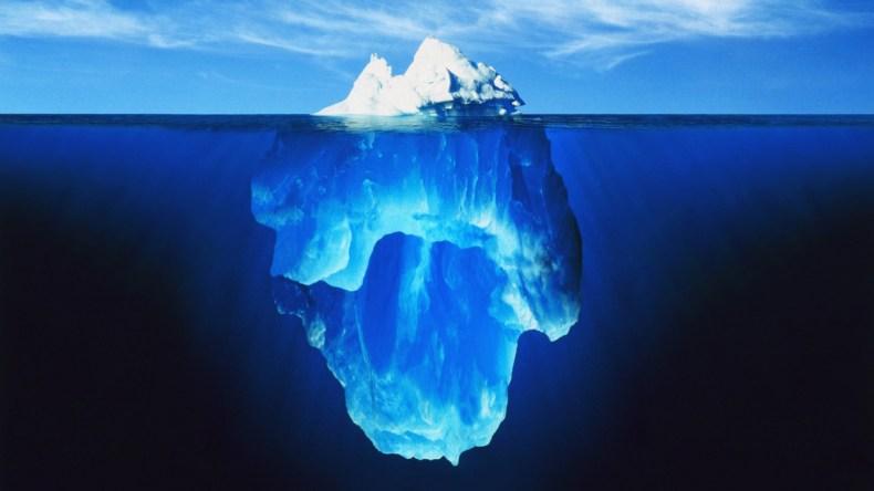 Iceberg inconscient hypnose Bien-être Bleu Indigo
