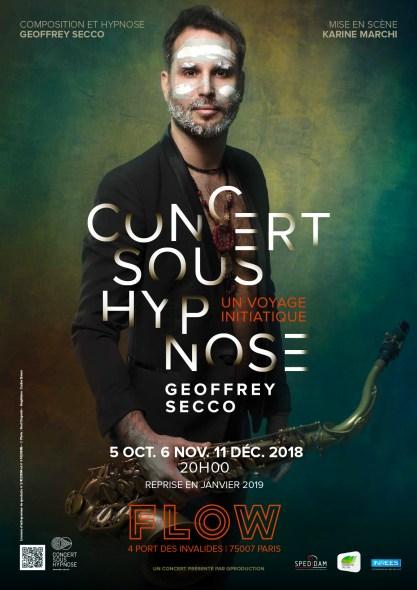 Affiche Concert sous hypnose Le Flow