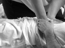 massage shiatsu mains connexion