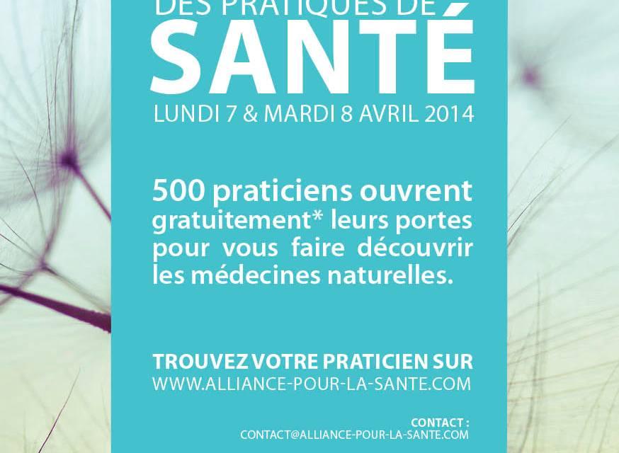 A la découverte des médecines naturelles… Le 7 & 8 avril 2014