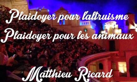 Plaidoyer pour l'altruisme – Matthieu Ricard au Grand Rex
