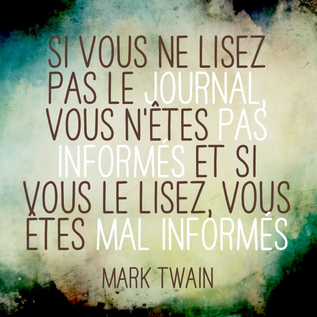 Citation mark Twain