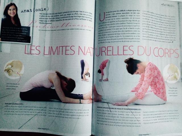 Page Anatomie YogaMagazine
