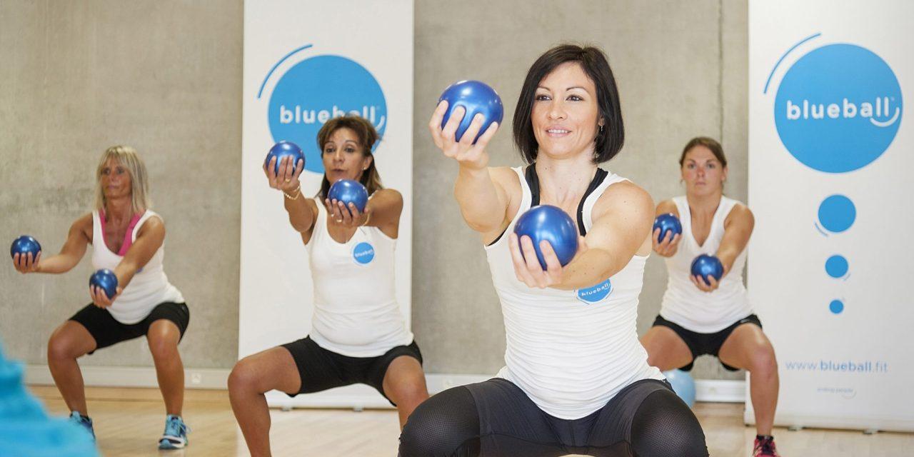 Nouvelle activité de positive fitness, Blueball