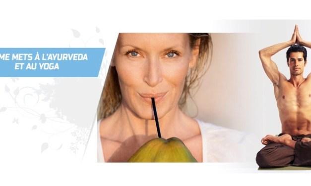 Du monde de la mode au Yoga et à l'Ayurveda avec Yogi Cameron et Estelle Lefébure
