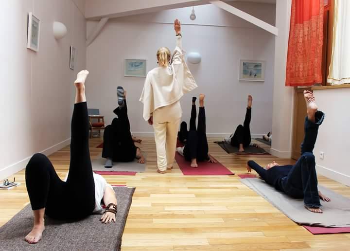 Séance de Yoga avec Catherine Millepied Flori