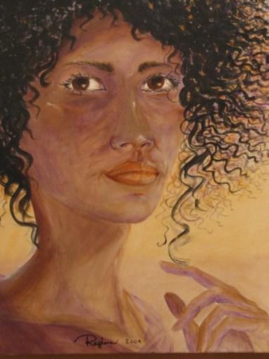 Regina Merta, Würde des Lebens, 50 x 70 cm, Acryl auf Leinen