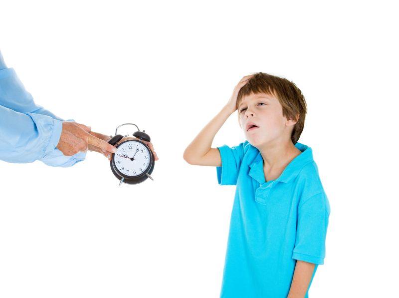 La prisa es nuestra, no de l@s niñ@s.