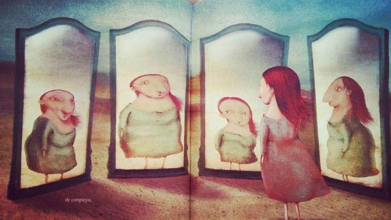 Malena en el espejo, de Elena Ferrándiz.