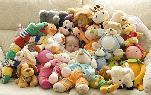 Demasiados juguetes.