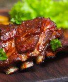 Costillas de cerdo en BBQ