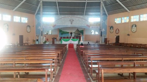 Interior of the Church on the Island of Fadiouth