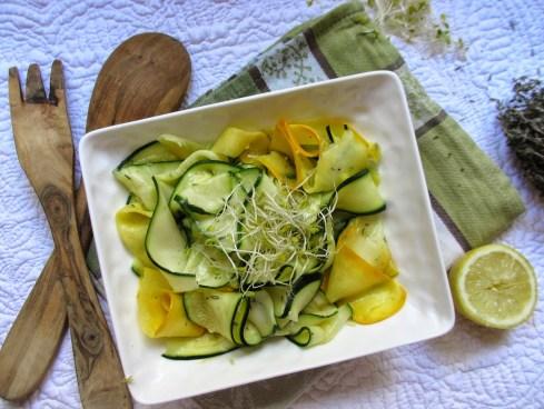 Salade de courgettes crues 15